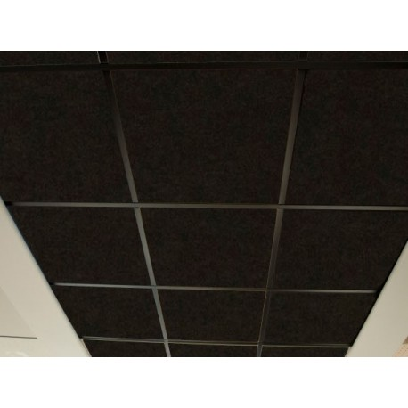 Techo FON-ACUSTIC 600 Negro (0,6 x 0,6 x 0,02 m)