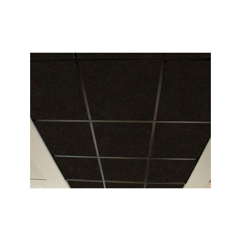 Techo FON-ACUSTIC 600 Negro (0,6 x 0,6 x 0,02 m) Techos Fonoabsorbentes