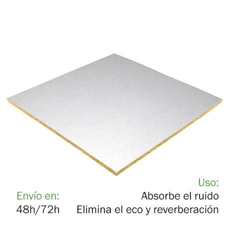 Techo FON-ACUSTIC Acero (0,6 x 0,6 x 0,02 m)