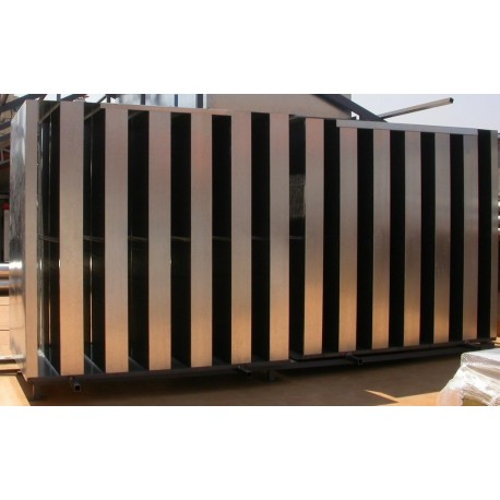 Silenciador Acústico celdas de 20 cm