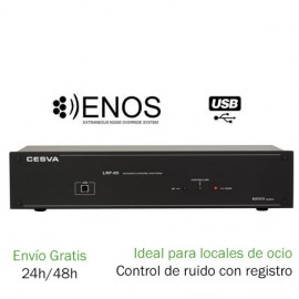 Limitador de sonido homologado CESVA LRF-05 Limitadores y controladores