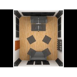 Kit home estudio Jakke pack Acondicionamiento acústico