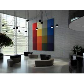 Absorbente Acústico Kino FR Acústica decorativa