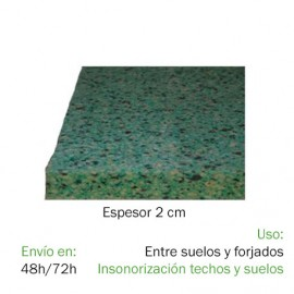 Aislante Acústico DISCO 150 (2 x 1,2 m) Materiales aislantes