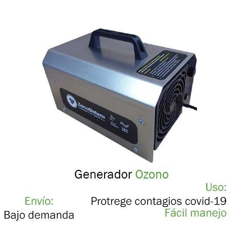 Generador Ozono desinfección coronavirus/ Covid-19 Mampara Coronavirus / Covid-19