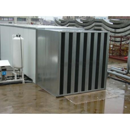 Silenciador Acústico celdas de 15 cm