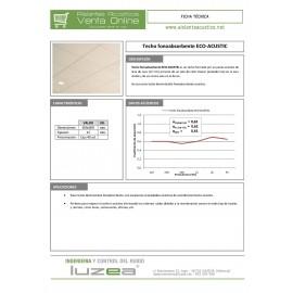Techo ECO-ACUSTIC (0,6 x 0,6 x 0,012 m) Techos Fonoabsorbentes