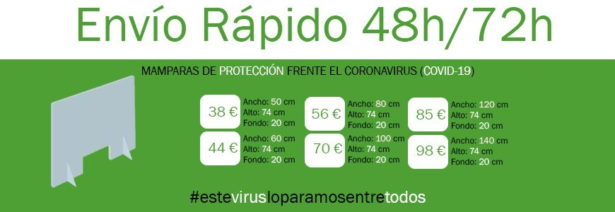 Mampara Coronavirus / Covid-19